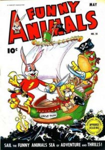 Fawcett's Funny Animals #18, Poor (Stock photo)
