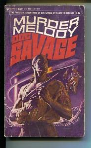DOC SAVAGE-MURDER MELODY-#15-ROBESON-G- JAMES BAMA COVER-1ST EDITION G