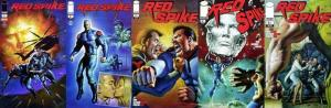 RED SPIKE (2011 IM) 1-5  the COMPLETE series!
