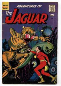 Adventures of the Jaguar #2 1961- Archie comics- alien cover- VG