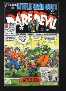 Daredevil Comics (1941 series) #116, Fine- (Actual scan)