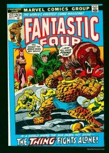 Fantastic Four #127 NM- 9.2 White Pages Marvel Comics