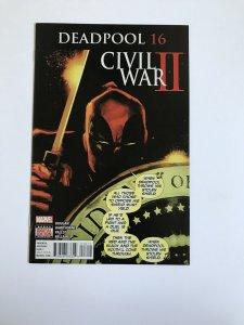 Deadpool Civil War II #16