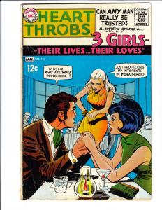 Heart Throbs #117 (Jan-69) VG Affordable-Grade