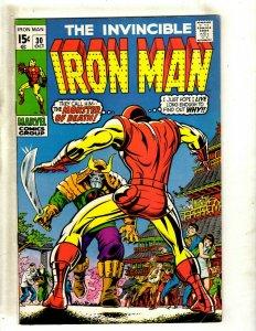 Iron Man # 30 VF Marvel Comic Book Avengers Hulk Thor Captain America J462