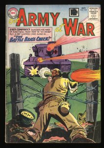 Our Army at War #123 GD/VG 3.0 Sgt Rock!
