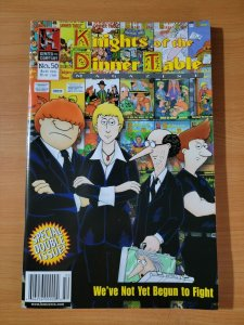 Knights of the Dinner Table #50 ~ NEAR MINT NM ~ 2000 Kenzer and Company Comics