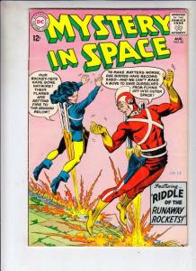 Mystery in Space #85 (Aug-63) FN/VF+ High-Grade Adam Strange, Allana