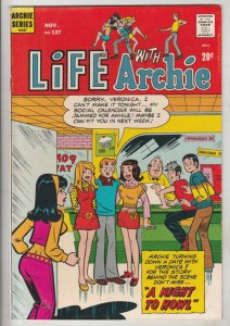 Life with Archie #127 (Nov-72) VF/NM+ High-Grade Archie, Jughead, Betty, Vero...