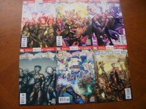 6 DC FINAL CRISIS AFTERMATH: DANCE Comic #1 2 3 4 5 6 (2009)(Casey) Complete Set