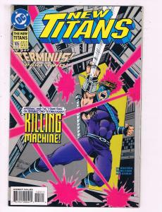 New Titans #105 VF DC Comics Killing Machine Comic Book Wolfman 1993 DE14