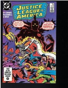 Justice League of America #252 (1986)