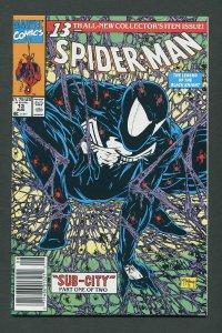 Spiderman #13 (McFarlane / Newsstand)  9.6 NM+   August 1991