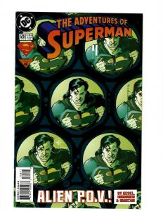 11 Comics Superman 106 107 108 123 528 529 530 531 Action Comics 717 718 J395