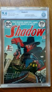 Shadow #1 (Nov 1973, DC) CBCS 9.6