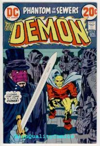 DEMON #8, VF, Jack Kirby, Phantom of the Sewers, 1972, more JK in store