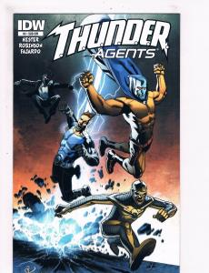 Thunder Agents # 5 NM 1st Print Subscription Variant Cover IDW Comic Book S70