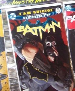 Batman # 13 JAN 2017  DC UNIVERSE REBIRTH  l am  suicide PT 5  BANE