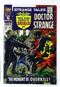 Strange Tales (1951 series) #151, VF (Actual scan)