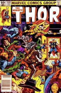 Thor (1966 series) #320, Fine+ (Stock photo)