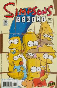 Simpsons Comics #104 VF/NM; Bongo | save on shipping - details inside