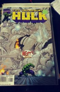 Incredible Hulk  # 463  APR 1998, Marve TROYGENS ARMAGEDDON SILVER SURFER