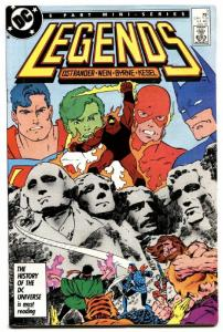 Legends #3 comic book 1987 first new  Suicide Squad DC deadshot