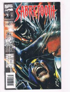 Sabre Tooth #3 FN Marvel Comics Comic Book X-Men Wolverine Nov 1993 DE37 TW7