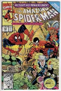 Amazing SPIDER-MAN #343, NM+, Larsen, Black Cat, 1963,  more ASM in store