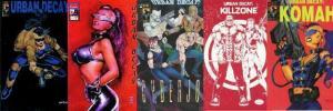 URBAN DECAY SET (1994 ANUBIS)0-1,Cyberjox,Killzone,Koma