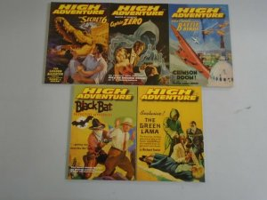 High Adventure TPB SC lot of 15 from #61-102 avg 8.0 VF (2001-08 Adventure House