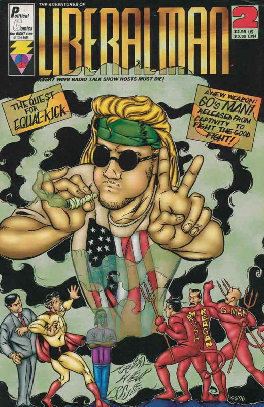 Adventures of Liberal Man, The #2 VF/NM; Political | save on shipping - details