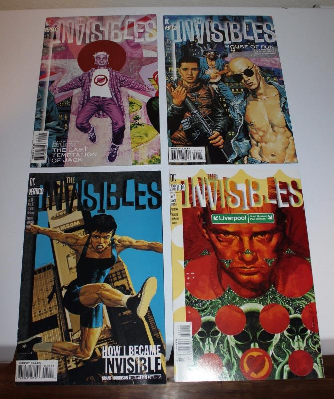 DC/Virtigo Comics ~ The Invisibles #20-23 (20,21,22,23) (SIC505)