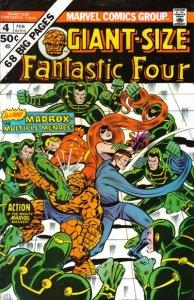 Giant-Size Fantastic Four #4 (ungraded) stock photo