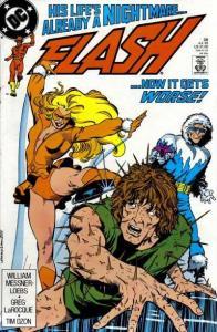 Flash (1987 series) #28, VF+ (Stock photo)