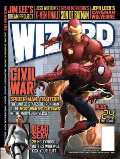 Wizard Magazine #182, NM (Stock photo)