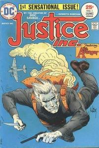 Justice Inc. (1975 series) #1, VF- (Stock photo)