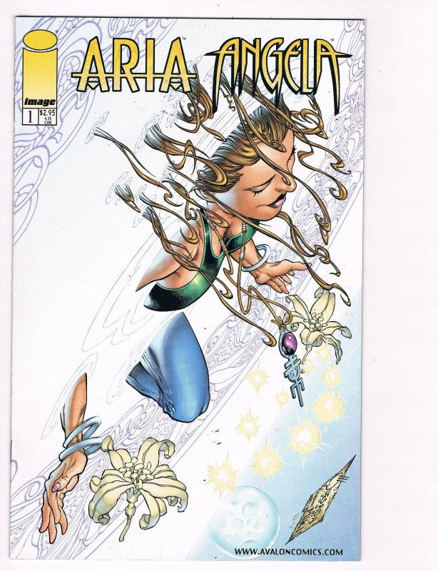 aria and angela 1b image comic books cyberforce youngbloods spawn