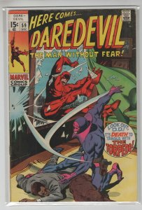 DAREDEVIL (1964 MARVEL) #59 FN+ A15209