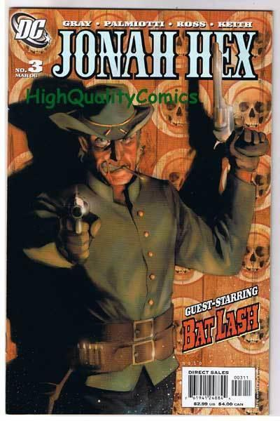 JONAH HEX #3, NM-, Justin Gray, Palmiotti, Ross, 2006, more JH in store
