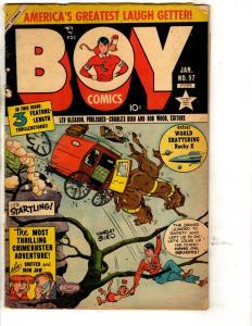 Boy Comics # 97 GD/VG Lev Gleason Golden Age Comic Book Charles Biro BE1