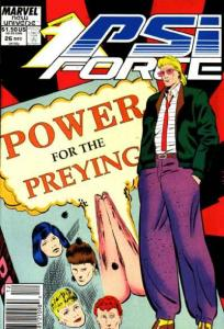 PSI-Force #26, NM (Stock photo)