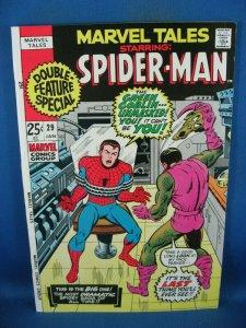 MARVEL TALES 29 VF SPIDERMAN GREEN GOBLIN 1970