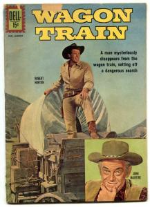 Wagon Train #12 1962- Dell TV Western- Robert Horton G+