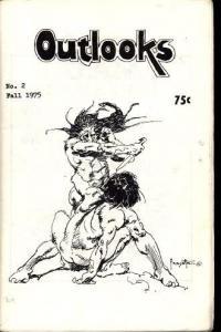 OUTLOOKS #2 FRAZETTA COVER 1975 RARE NICE FN