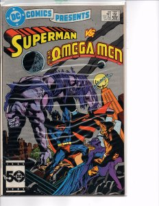 DC Comics Presents #89 Superman and Omega Men  VF