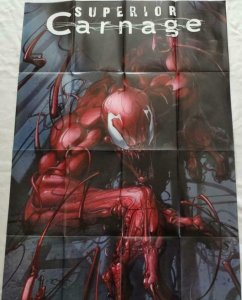 SUPERIOR CARNAGE Promo Poster, 24 x 36, 2013 MARVEL Unused more in our store 301