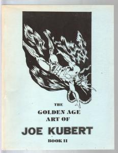 Golden Age Art Of Joe Kubert Book II #2 1979-Dellinges-FN