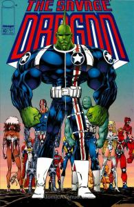 Savage Dragon, The #40 VF/NM; Image   save on shipping - details inside
