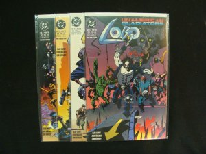 Lobo UnAmerican Gladiators #1-4 Complete Set Run Mike Mignola DC Comics NM